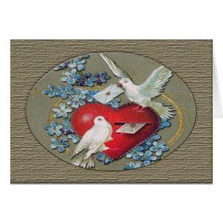 Love Birds Valentine Card