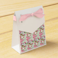 Love Birds Vintage Valentine's Day Party Favor Box