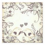 Love Birds Wedding (blank) Personalized Invite