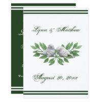 Love Birds - Wedding Invitation