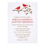 Love Birds Wedding Invitations