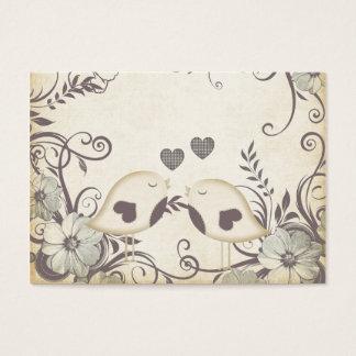Love Birds (with custom template) Business Card