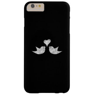 Love Birds with Heart Custom Color Barely There iPhone 6 Plus Case