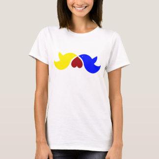 Love Birds with Heart T-Shirt