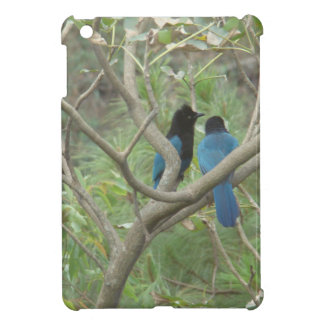 Love BIrdy Style Tropical Black-Blue Jay Case For The iPad Mini
