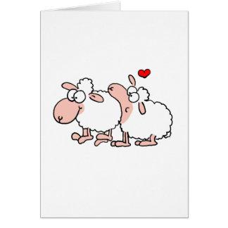 Love bit tarjeta de felicitación