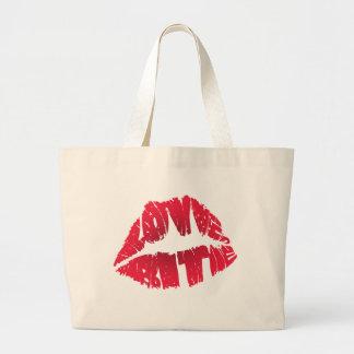 LOVE BITE TOTE BAGS