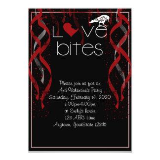 Love Bites Anti-Valentine Party Invitation