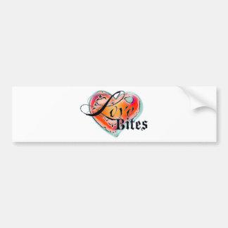 Love Bites Bumper Sticker