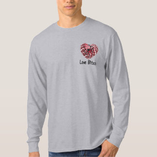 Love Bites Embroidered Long Sleeve T-Shirt
