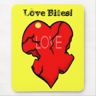 Love Bites Mouse Pad