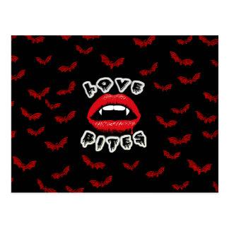 Love Bites Postcard