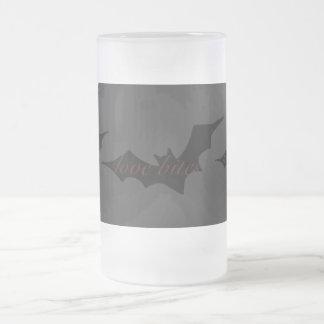 Love Bites Vampire Bat Mugs