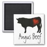 Love Black Angus Beef Refrigerator Magnet