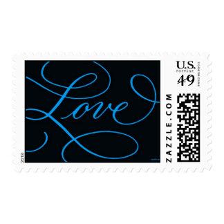 Love . Black Cobalt Postage