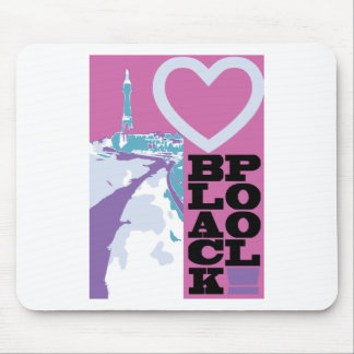 Love Blackpool Mouse Pad