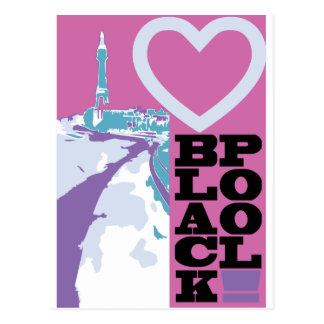 Love Blackpool Postcard