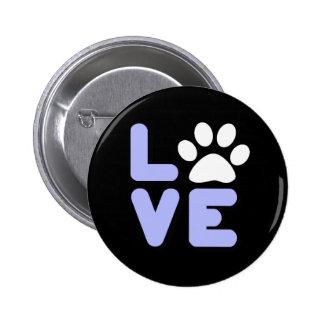 LOVE - Blk/Blu Pin