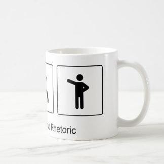 Love Blood & Rhetoric (Rosencrantz & Guildenstern) Classic White Coffee Mug
