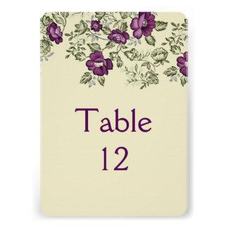 Love Bloom Flowers Table card