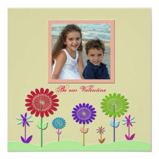 Love Blooms Valentine's Day Photo Card