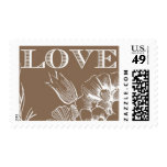 Love Blossoms A by Ceci New York Postage Stamp