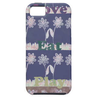 Love Blue Baby Shower colors.png iPhone SE/5/5s Case