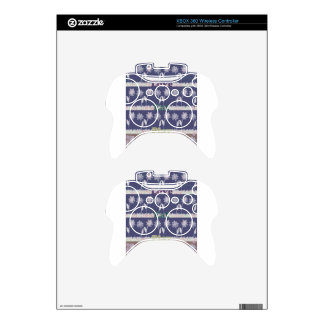 Love Blue Baby Shower colors.png Xbox 360 Controller Decal