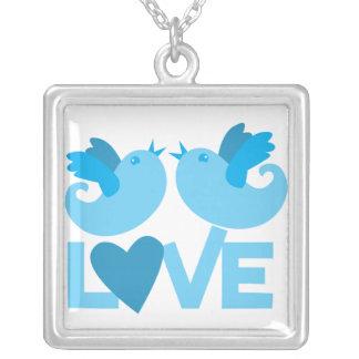 LOVE blue birds Jewelry