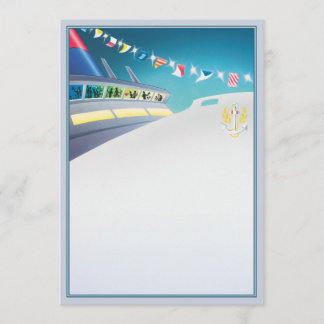 Love Boat © Note Card