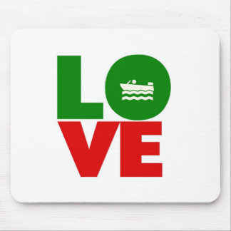 Love Boating Mouse Pad