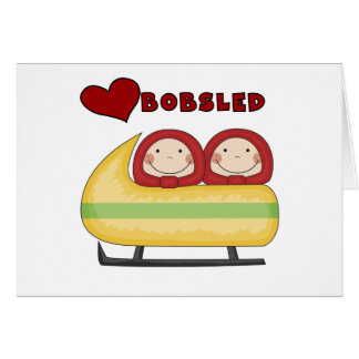 Love Bobsled Tshirts and Gifts Card