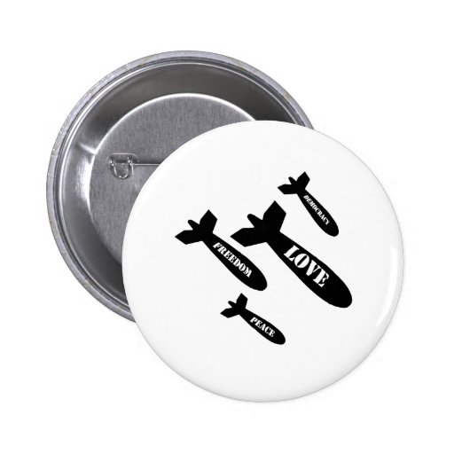 Love Bombs 2 Inch Round Button