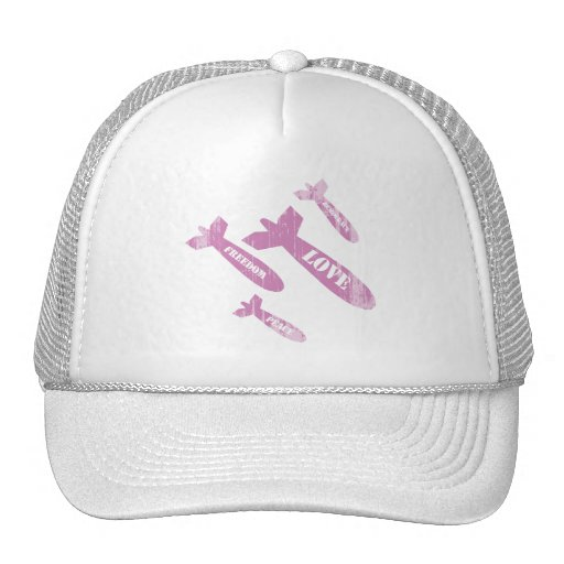 LOVE BOMBS - Faded.png Trucker Hat