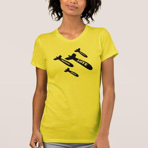 Love Bombs T Shirts