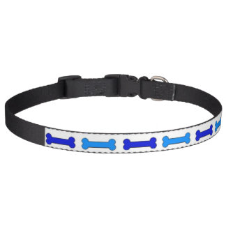 Love Bones (Blue) Dog Collars