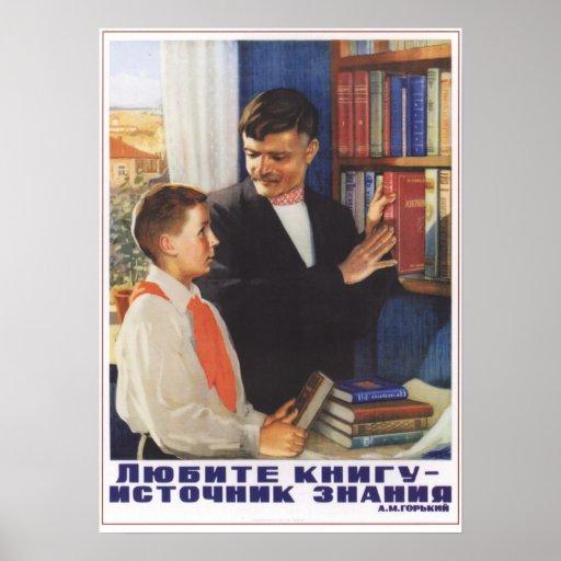 Love Books Poster