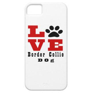 Love Border Collie Dog Designes iPhone SE/5/5s Case