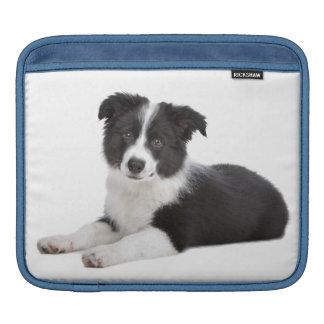Love Border Collie Puppy Dog iPad Laptop Sleeve