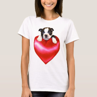 Love Boston Terrier Tank top