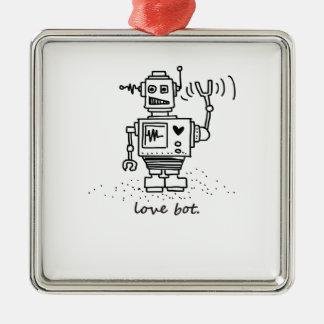 love bot christmas ornament