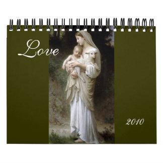 Love, Bouguereau 2010 Calendar