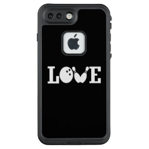 LOVE BOWLING LifeProof FRĒ iPhone 7 PLUS CASE