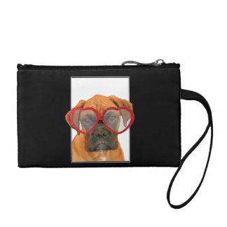 Love Boxer dog Change Purse