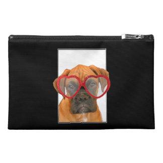 Love Boxer dog Travel Accessories Bag