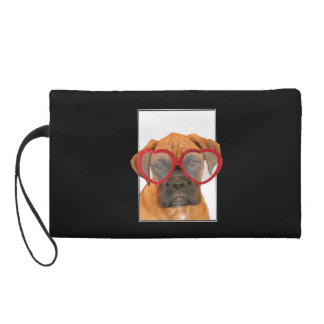 Love Boxer dog Wristlet