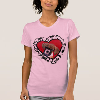 Love Boxer puppy camisole T-Shirt