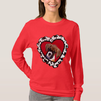 Love Boxer puppy t-shirt