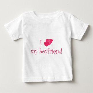 love boyfriend infant t-shirt