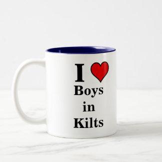 Love Boys in Kilts cup Mug